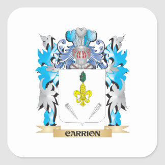 Carrion Coat of Arms - Family Crest Stickers