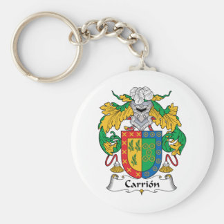 Carrion Family Crest Keychains