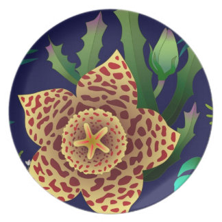 carrion flower dinner plate