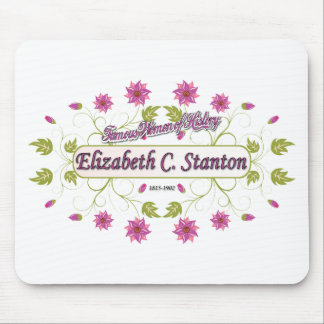 Carrito de Elizabeth del de Stanton mujeres famo Tapetes De Raton