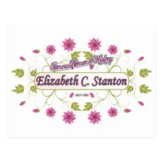 Carrito de Elizabeth del ~ de Stanton/mujeres Tarjeta Postal
