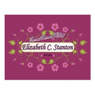 Carrito de Elizabeth del ~ de Stanton/mujeres Postales
