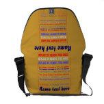 Carrito del bolso sobre personalizar de 40 colores bolsas de mensajeria