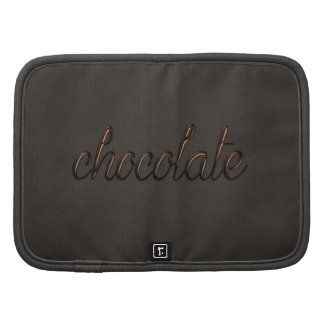 Carrito del chocolate planificadores