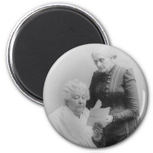 Carrito Stanton y Susan B. Anthony de Elizabeth Imán