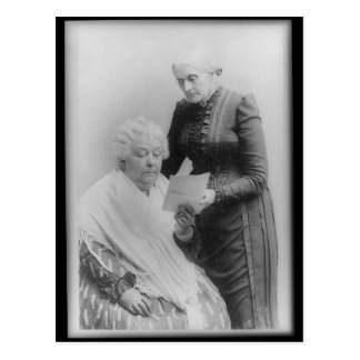 Carrito Stanton y Susan B. Anthony de Elizabeth Postal