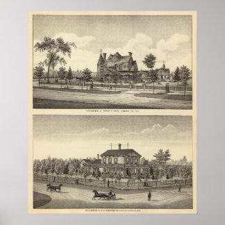 Carrito y Kilpatrick, Nebraska Posters