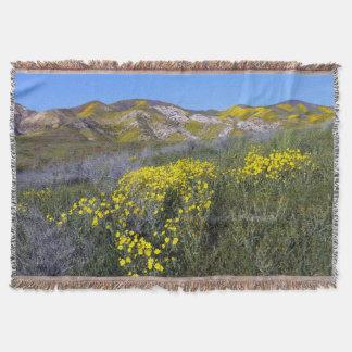 Carrizo Plain National Monument Throw Blanket