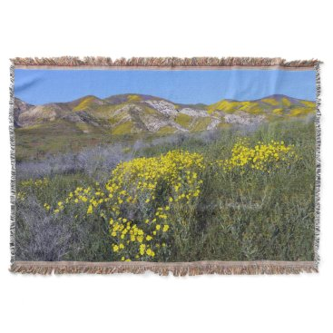 tianxinzheng Carrizo Plain National Monument Throw Blanket