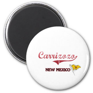 Carrizozo New Mexico City Classic 2 Inch Round Magnet