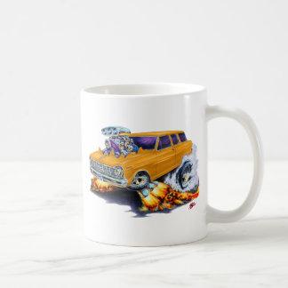 Carro 1962-65 del naranja de Nova Taza De Café