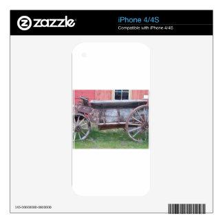 Carro antiguo calcomanías para el iPhone 4