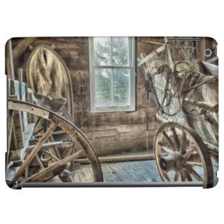 Carro cubierto, rueda de carro de madera