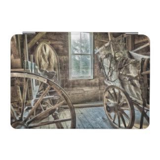Carro cubierto, rueda de carro de madera cover de iPad mini