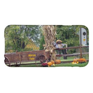 Carro de antaño de la granja de la escena de la funda de iPhone 6 barely there