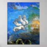 Carro de Apolo - por el Symbolist Odilon Redon Pri Posters