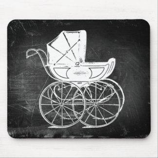 Carro de bebé gótico tapetes de ratones