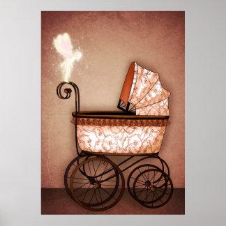 Carro de bebé poster