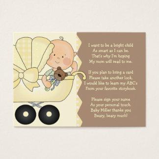 Carro de bebé - tarjeta del parte movible del
