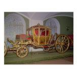 Carro de Berlín de la emperatriz Catherine II Tarjetas Postales
