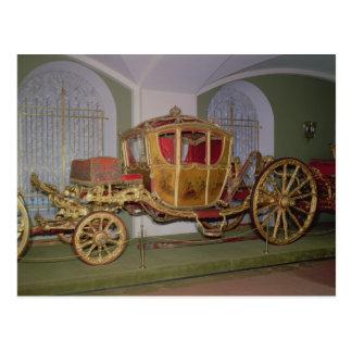 Carro de Berlín de la emperatriz Catherine II Postal