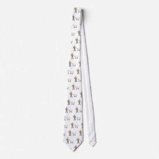 Carro de empaquetado del ultramarinos de la corbata personalizada