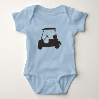 CARRO de GOLF del diseño del bebé y del niño Remeras