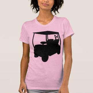 Carro de golf camiseta