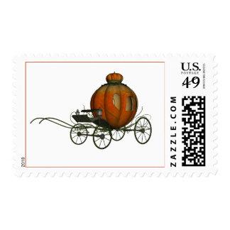 Carro de la calabaza (1) sellos postales