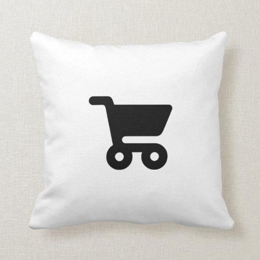 Carro de la compra almohada