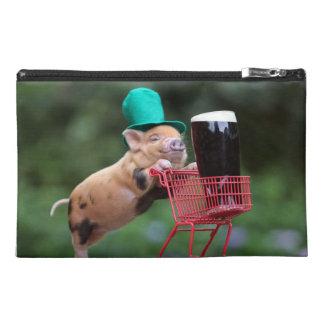 Carro de la compra del cerdo del perrito