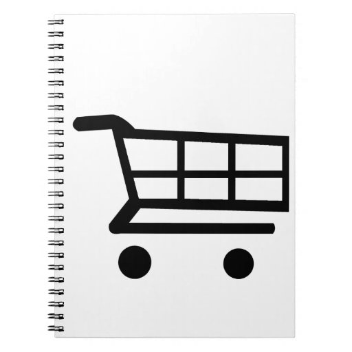 Carro de la compra libreta espiral