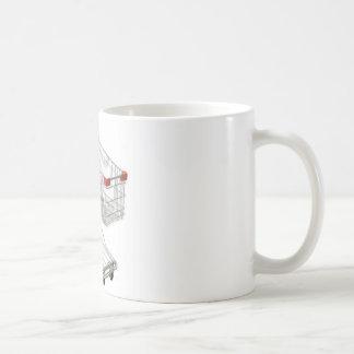 carro de la compra taza clásica