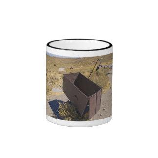 Carro de la explotación minera de Bodie Tazas