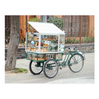 Carro de pasteles - amor Perú de I Postal
