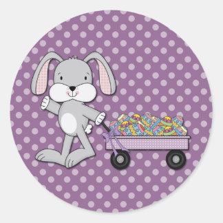 Carro del conejito pegatinas