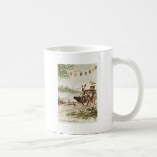 Carro del cordero del huevo del polluelo del conej tazas de café