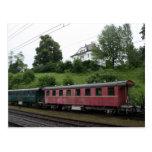 Carro del ferrocarril del vintage de Gastezug Postales