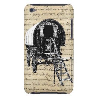 Carro del gitano del romany del vintage funda para iPod de Case-Mate