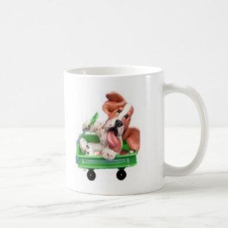 carro del sally taza de café