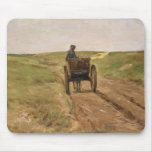 Carro en Katwijk, 1889 Tapete De Raton