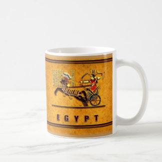 carro en la taza 2 de Egipto antiguo