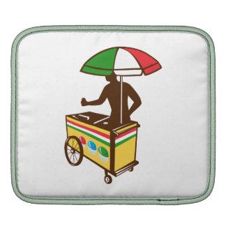 Carro italiano del empuje del hielo retro mangas de iPad