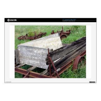 Carro oxidado viejo portátil 43,2cm skin