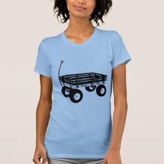 Carro retro camiseta