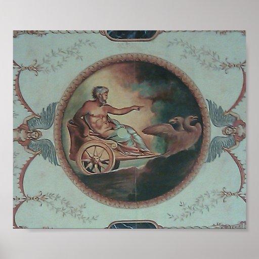 Carro romano poster