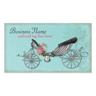 Carro romántico tarjeta de negocio