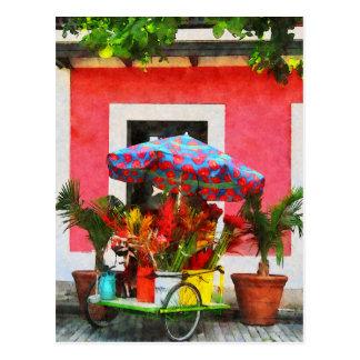 Carro San Juan, Puerto Rico de la flor Postal