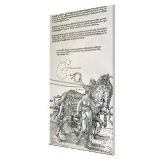Carro triunfal del emperador Maximiliano I Impresiones En Lona