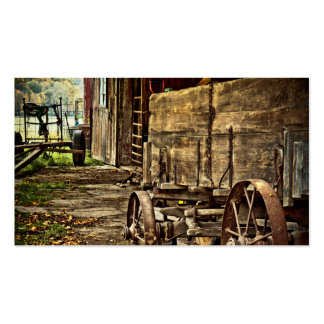 Carro viejo de Amish Tarjetas De Visita
